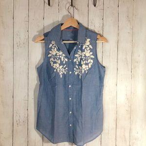 NEW: St. John's Bay Sleeveless Shirt